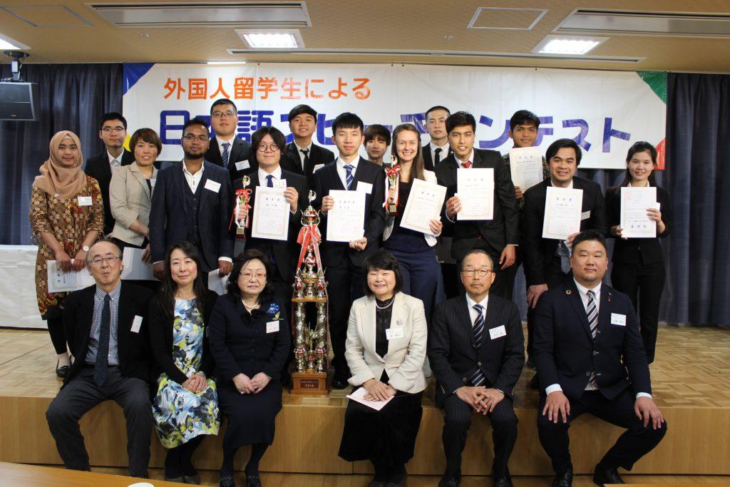 外国人留学生による日本語スピーチコンテスト