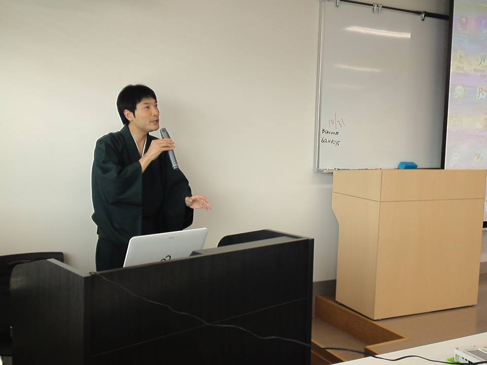 福山市立大学での講義